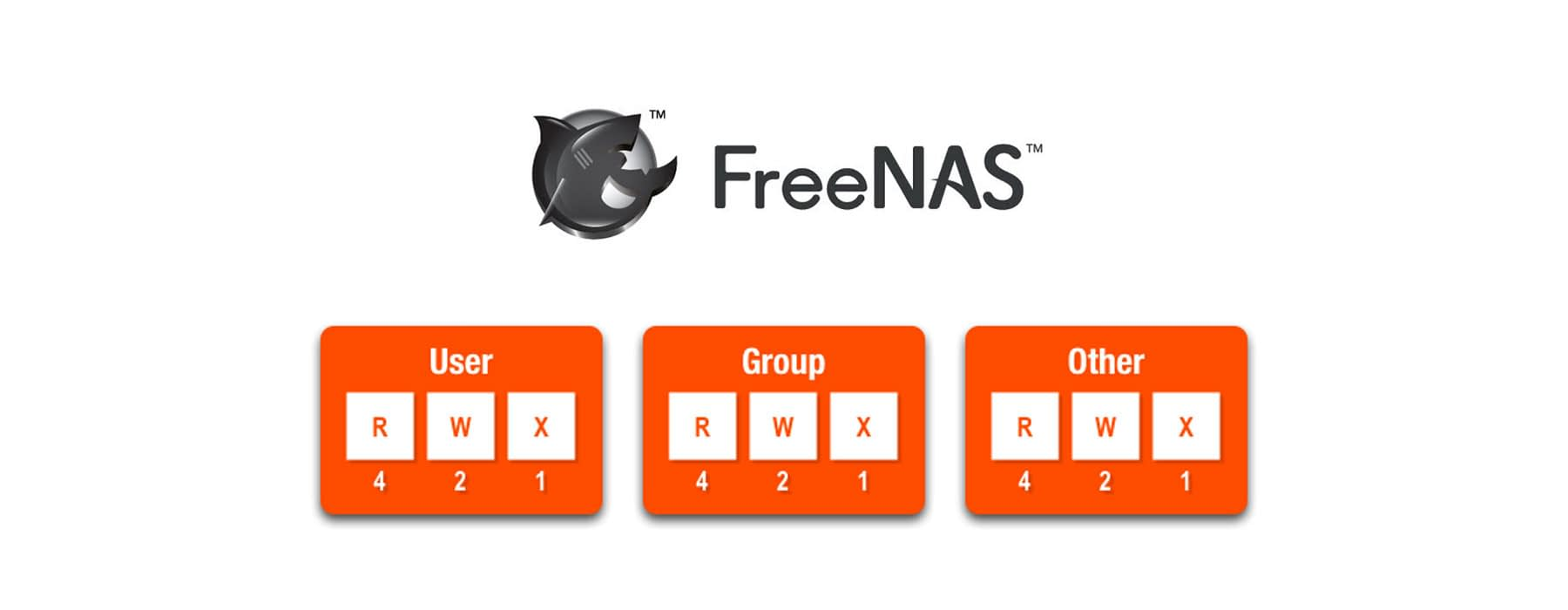 Creating permissions & users on FreeNAS
